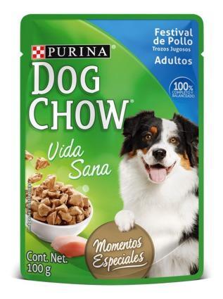 Dog chow - alimento húmedo 100g