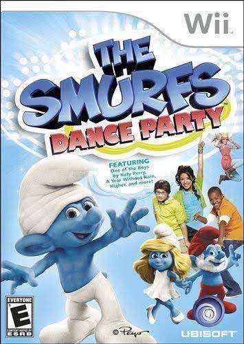 Smurfs Dance Party - Nintendo Wii Original