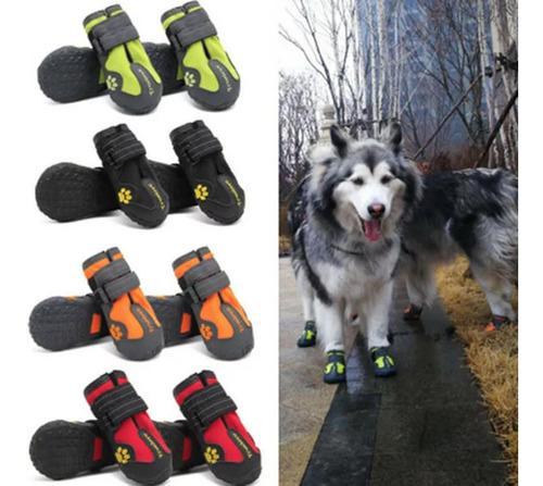 Zapatos impermeables, antideslizantes para perro. talla 4