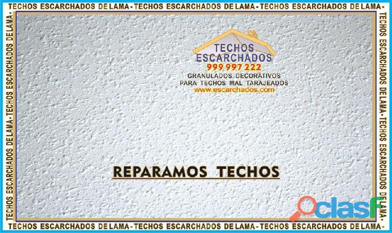 ESCARCHADOS DECORATIVOS TIPO LAMA: Muy bueno para RESTAURAR y decorar techos   TLF:. 999 997 222   3