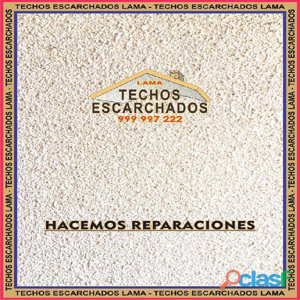 ESCARCHADOS DECORATIVOS TIPO LAMA: Muy bueno para RESTAURAR y decorar techos   TLF:. 999 997 222   5