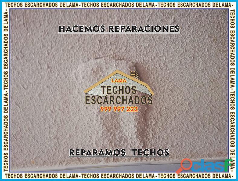 ESCARCHADOS DECORATIVOS TIPO LAMA: Muy bueno para RESTAURAR y decorar techos   TLF:. 999 997 222   6