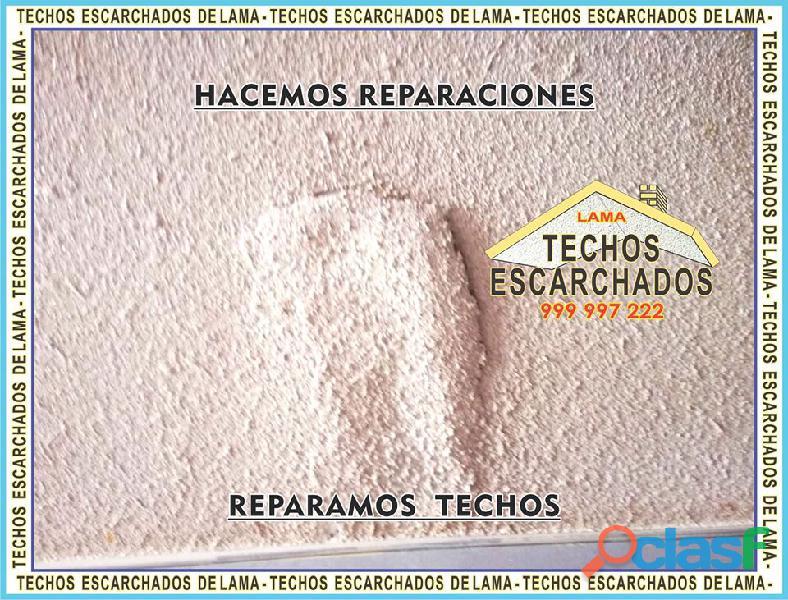 ESCARCHADOS DECORATIVOS TIPO LAMA: Muy bueno para RESTAURAR y decorar techos   TLF:. 999 997 222   9