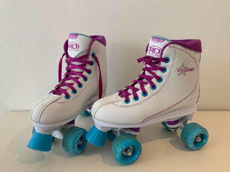 patines de 4 ruedas roller derby roller star