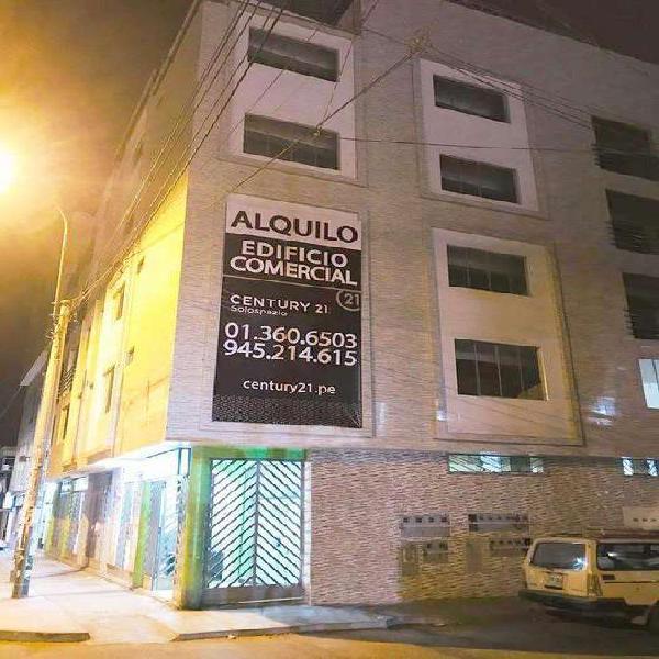 Alquiler de edificio comercial en san juan de miraflores