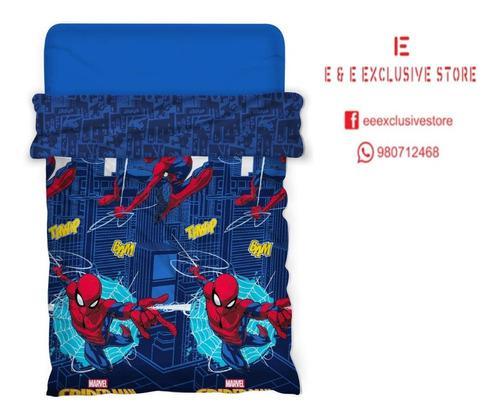 Edredón infantil spider man 1 1/2 (edredón c/ sherpa)