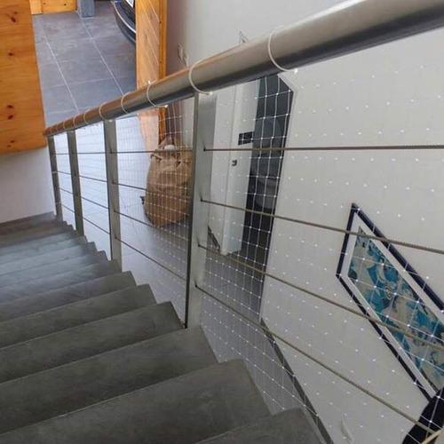 Mallas de protección para niños escaleras y barandas