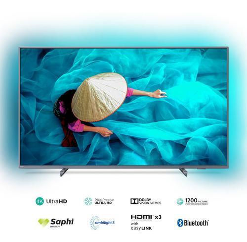 Philips led 65 pulgadas 4k uhd ambilight smart tv 65pud6794