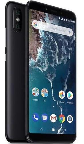Xiaomi mi a2 6 gb / 128 gb negro / caja / case armor