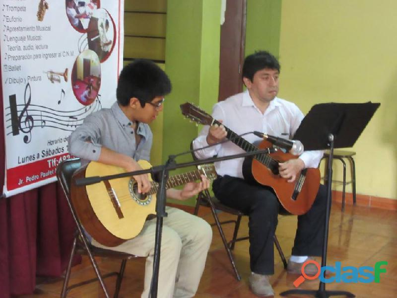 clases de guitarra on line 6