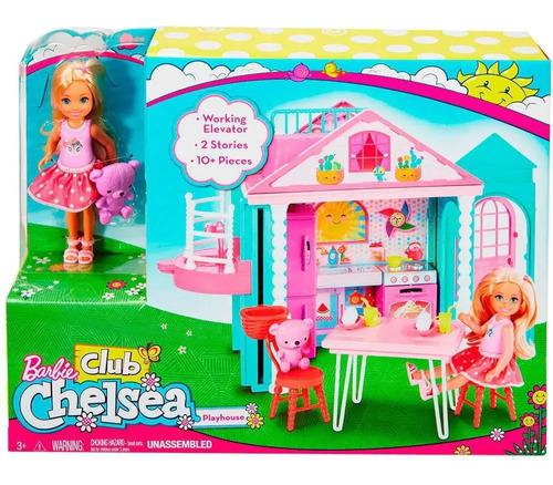 Barbie chelsea casa de muñecas casita con accesorios