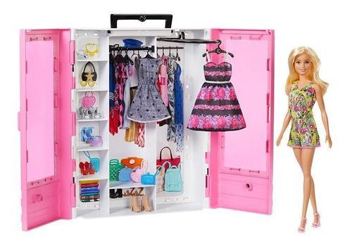 Barbie closet de lujo fashionista accesorios y muñeca