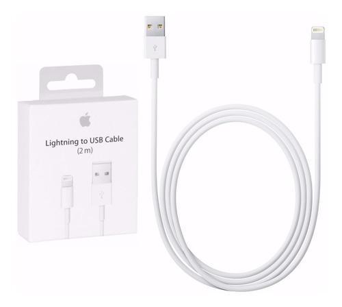 Cable apple iphone ipad 2 metros 5/5s/6/6s original sellado