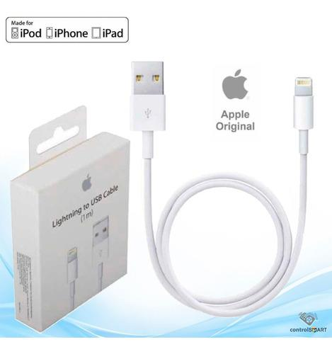 Cable usb original iphone 5, 6, 7, x (nuevo en oferta)
