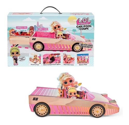 Carro lol sorpresa! coche pool coupe con piscina y muñeca