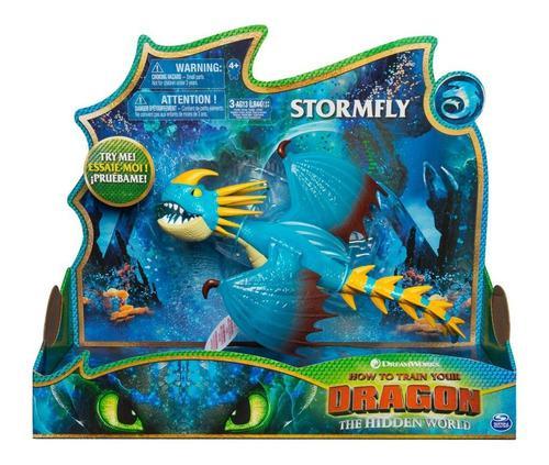 Cómo entrenar a tu dragón 2 - tormenta (stormfly) +35 cm