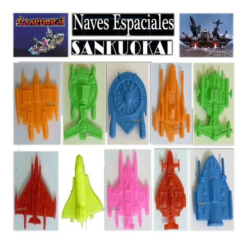 Dante42 pack 10 naves sankuokai espacial miniaturas 1980