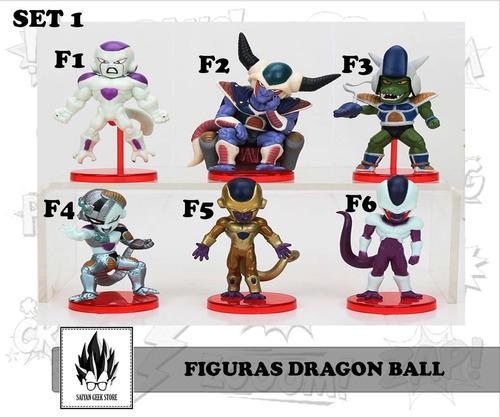 Figuras muñecos de dragon ball z, super