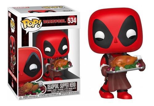 Funko pop! - deadpool (supper hero - navideño) #534