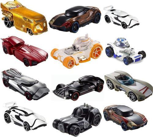 Hot wheels star wars character die cast cars original