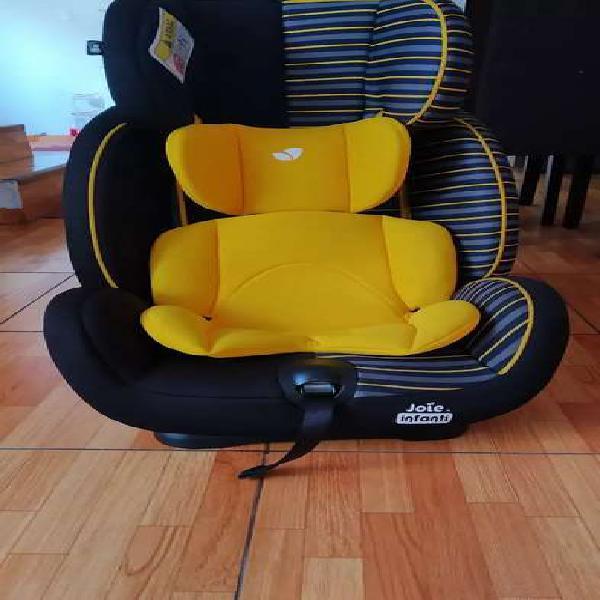 Silla de auto infantil joie amarillo