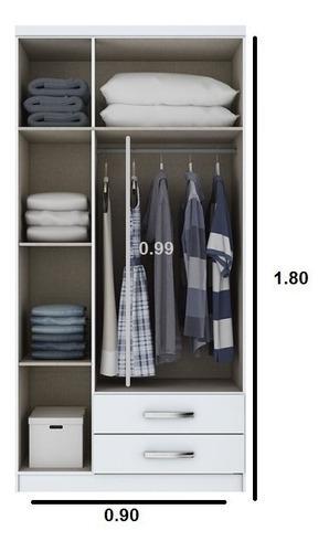 Dormitorio ropero estante closet armario yess