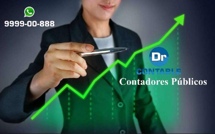 Estudio contable: doctor contable