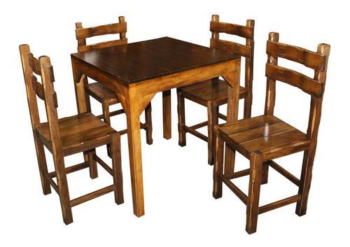 Juego de comedor mesa silla restaurante hotel polleria