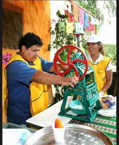 Maquina raspadillera para negocio envios a nivel nacional