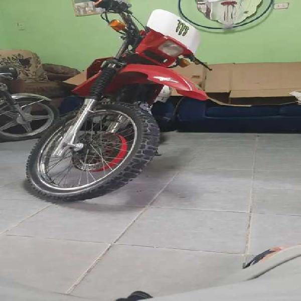 Moto rtm motor 200 + casco ls cross