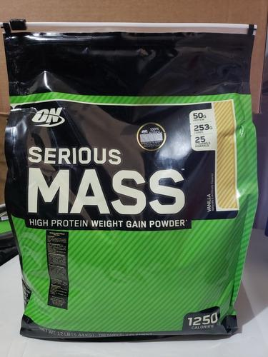 Serious mass -optimum nutrition - 12 libras