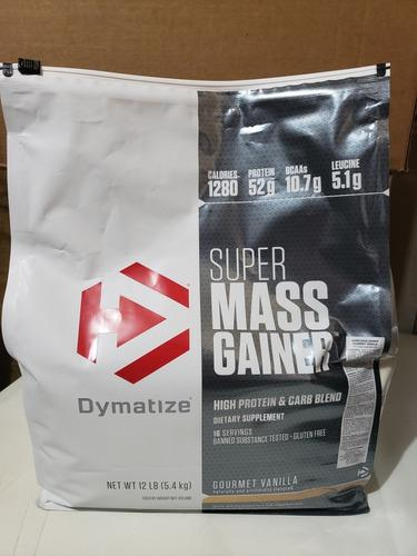 Super mass gainer - dymatize - 12 libras
