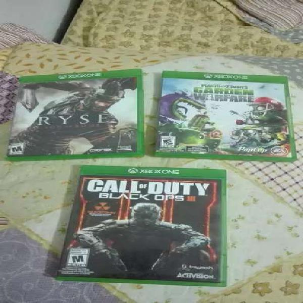 Vendo juegos originales xbox one ocasion