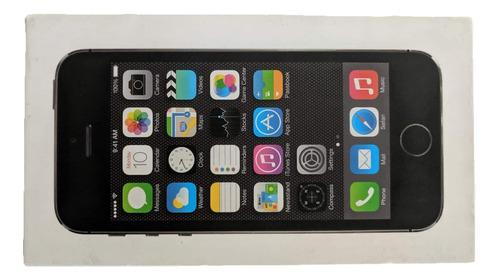 Caja original de iphone 5s 16gb black