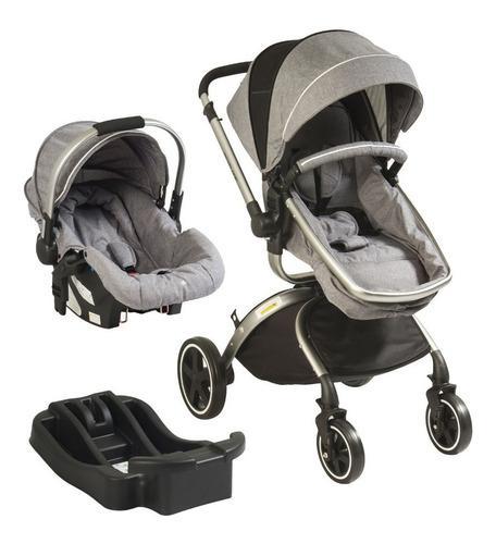Coche bebe baby kits travel system f80 +portabebe+base nuevo