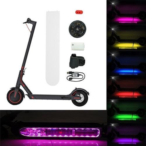 Tira de luces led para scooter xiaomi m365