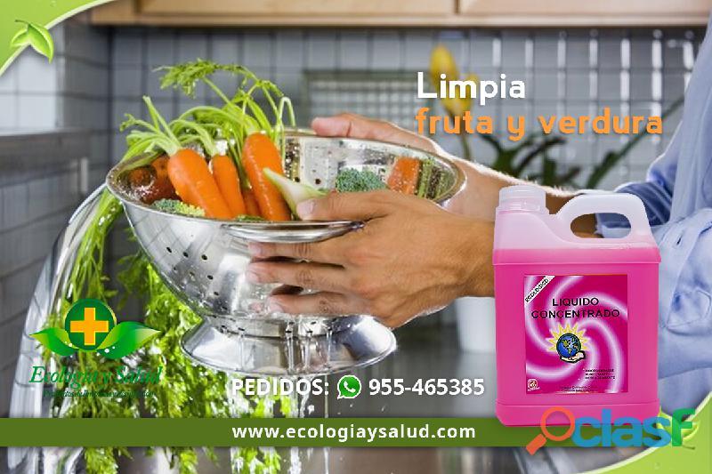 Desinfectante ecologico de frutas y verdura