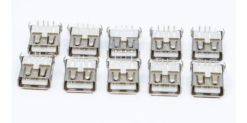 2und socket hembra cable tipo standard usb-a, entrada usb