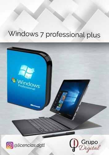 Compra e instala tu windows 7 professional 1 pc original