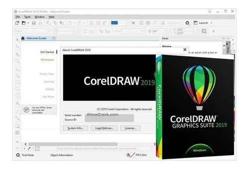 Coreldraw 2020 licencia de por vida envio digital