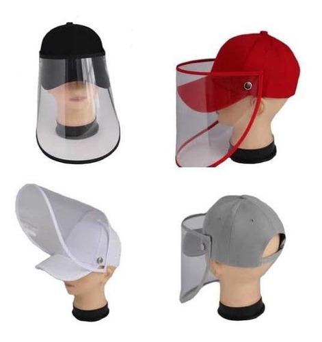 Protector facial, careta facial, tipo gorro para niño y