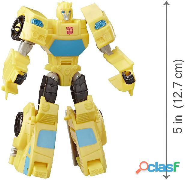 ransformers Toys Cyberverse Spark Armor Bumblebee Figura de acción – Combina con Ocean Storm Spark A