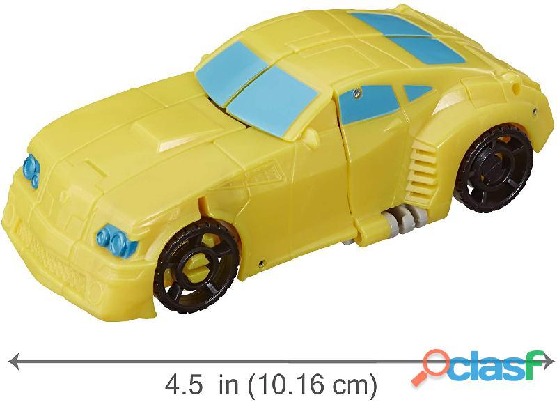 ransformers Toys Cyberverse Spark Armor Bumblebee Figura de acción – Combina con Ocean Storm Spark A 1