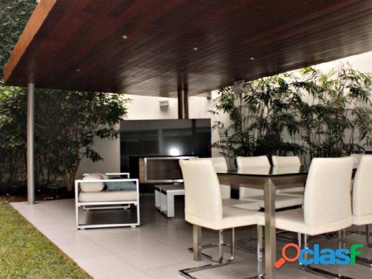 Departamento en venta en golf los incas surco, hermoso tipo casita jardin terraza