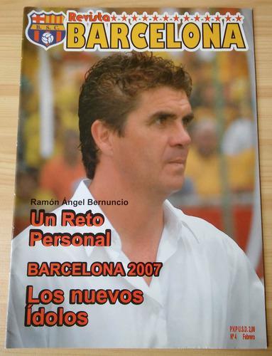 Barcelona sporting club ecuador guayaquil revista