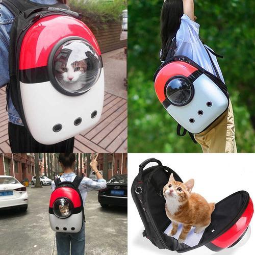 Mochila de paseo de mascotas - gato, perro, conejo