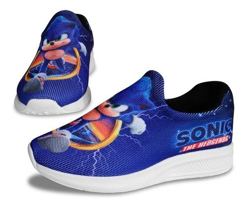 Zapatillas sonic azul