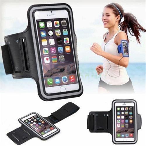 Bracera celular sports armband ejercicios hasta 6 pulgadas