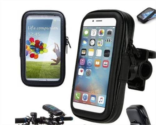 Holder para bicicleta /moto porta celular gps funda gift