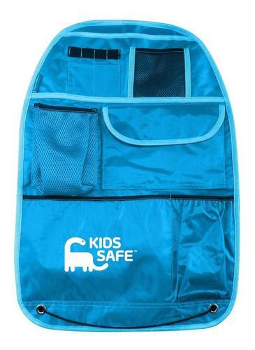 Organizador de asiento auto bebe niño ks1012az azul